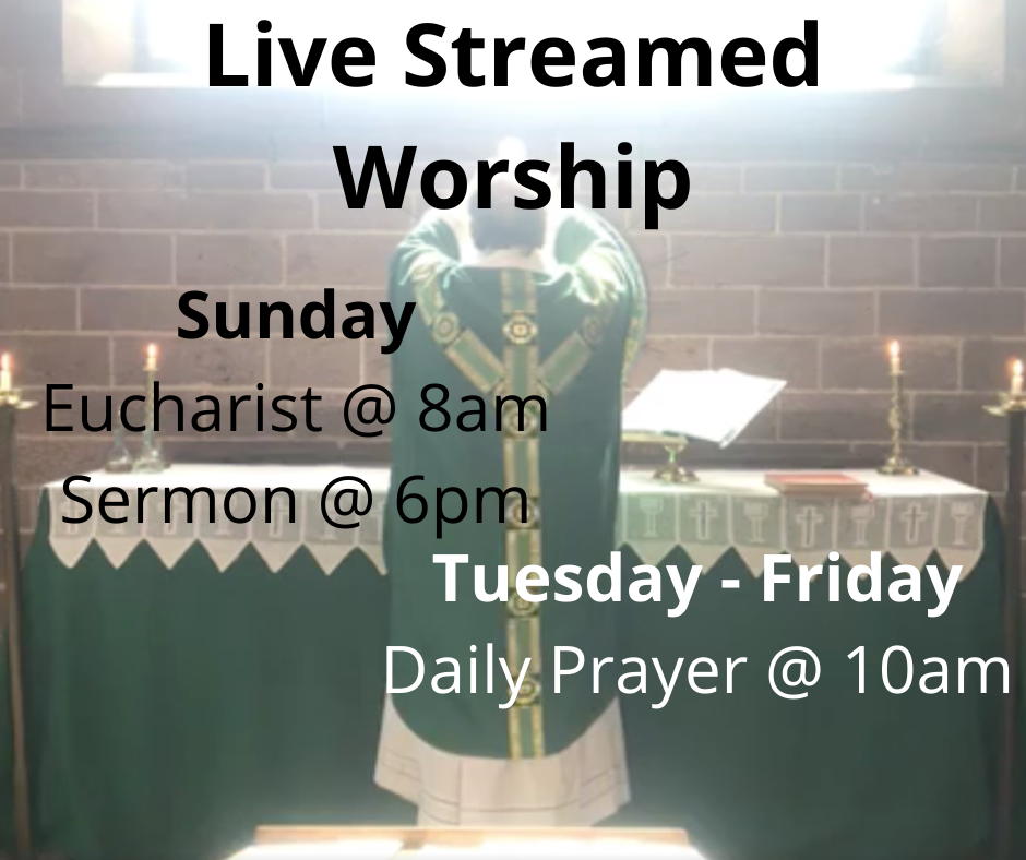 Live Streamed Worship